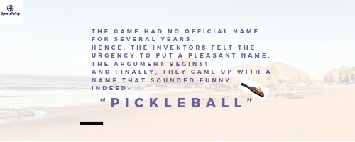 How did Pickleball get its name. 5