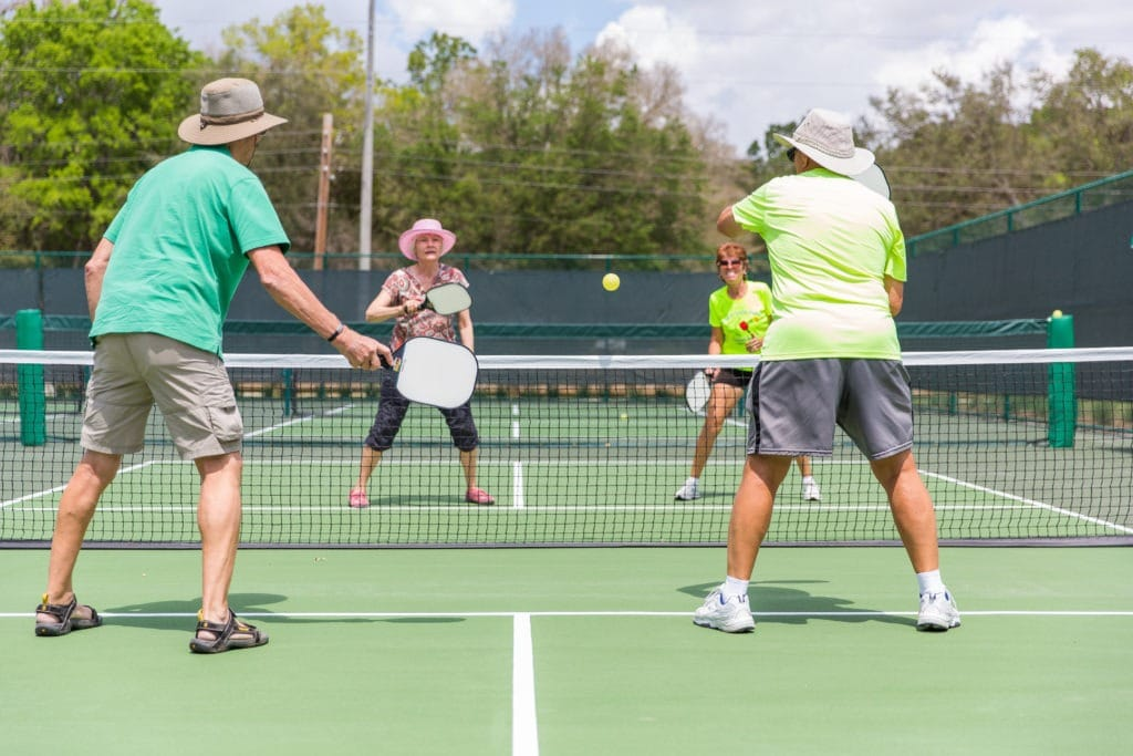 Pickleball_Players. doubles