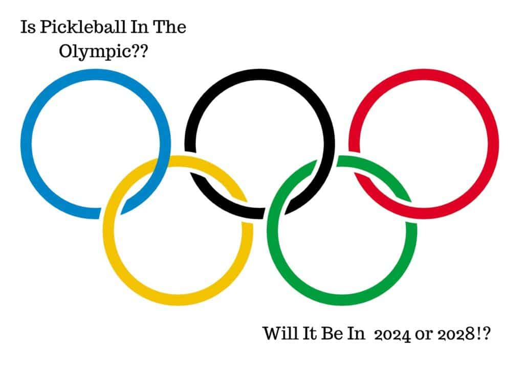 Is pickleball in the olympic