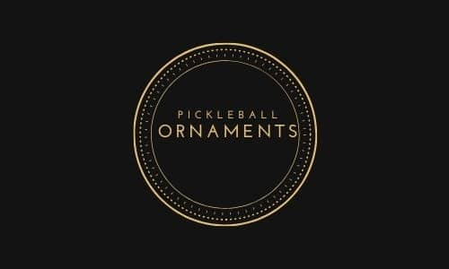 Pickleball ornaments