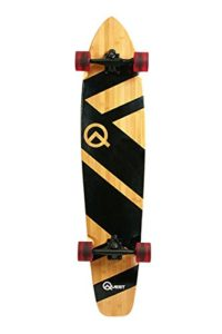 Quest QT-NSC44C The Super Cruiser The Original Artisan Bamboo and Maple 44 Longboard Skateboard