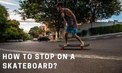 How To Stop On A Skateboard image