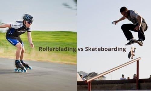 Skateboarding vs Rollerblading